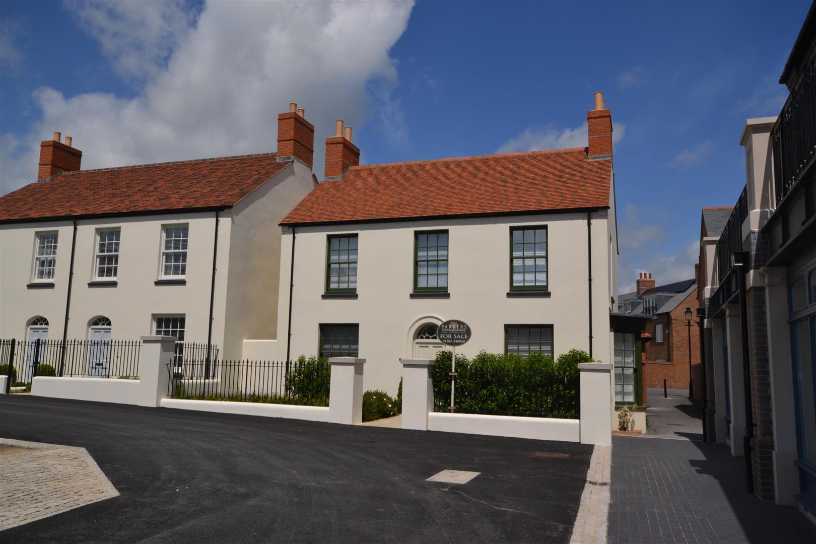 Hamslade Green, Poundbury, Dorchester